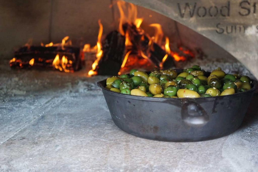 Olives in Wood Fired Oven